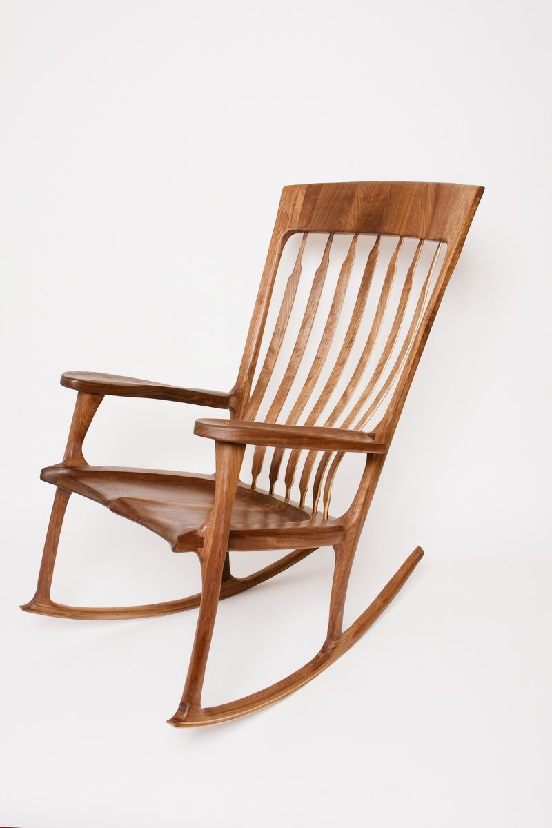 handmade rocking chair by design by jeff spugnardi. Black Bedroom Furniture Sets. Home Design Ideas