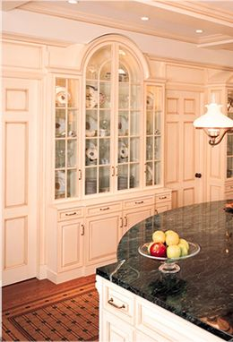 Custom Made Glazed Kitchen