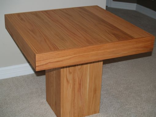 Custom Made Cube Dining Table