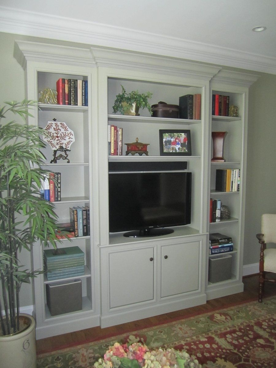 hand crafted traditional wall unit by perfect design