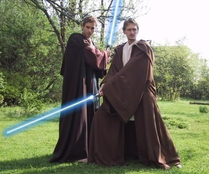 Custom Made Obi-Wan Kenobi Style Jedi Robe