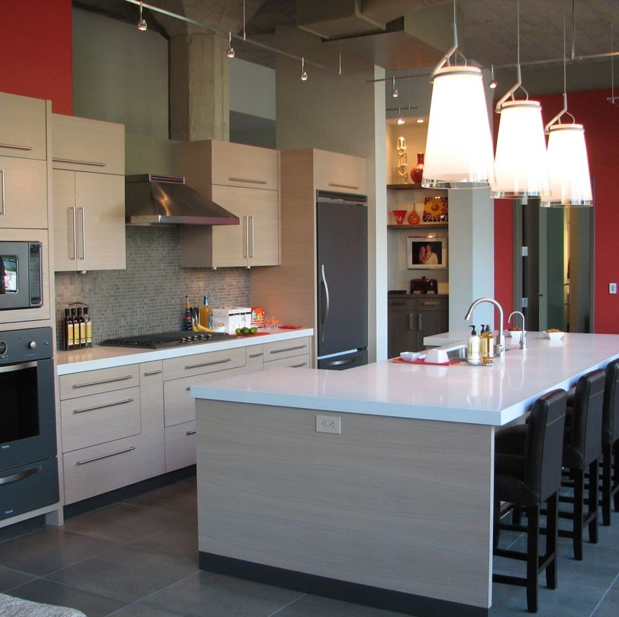 Hand Made Uban Loft Kitchen By Calls Design Inc