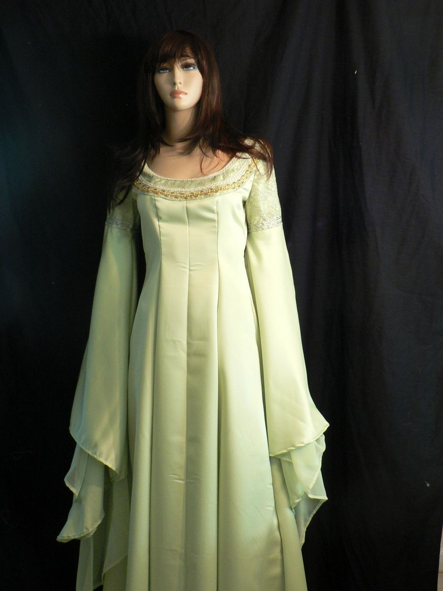 Hand Crafted Lord Of The Rings Arwen Coronation Gown By