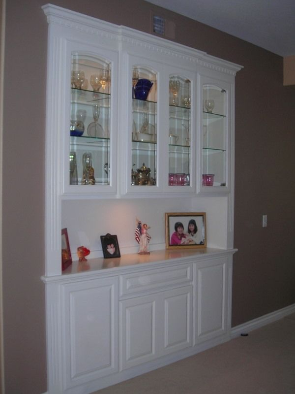 Custom A Built In China Closet By Mars Custom Cabinets