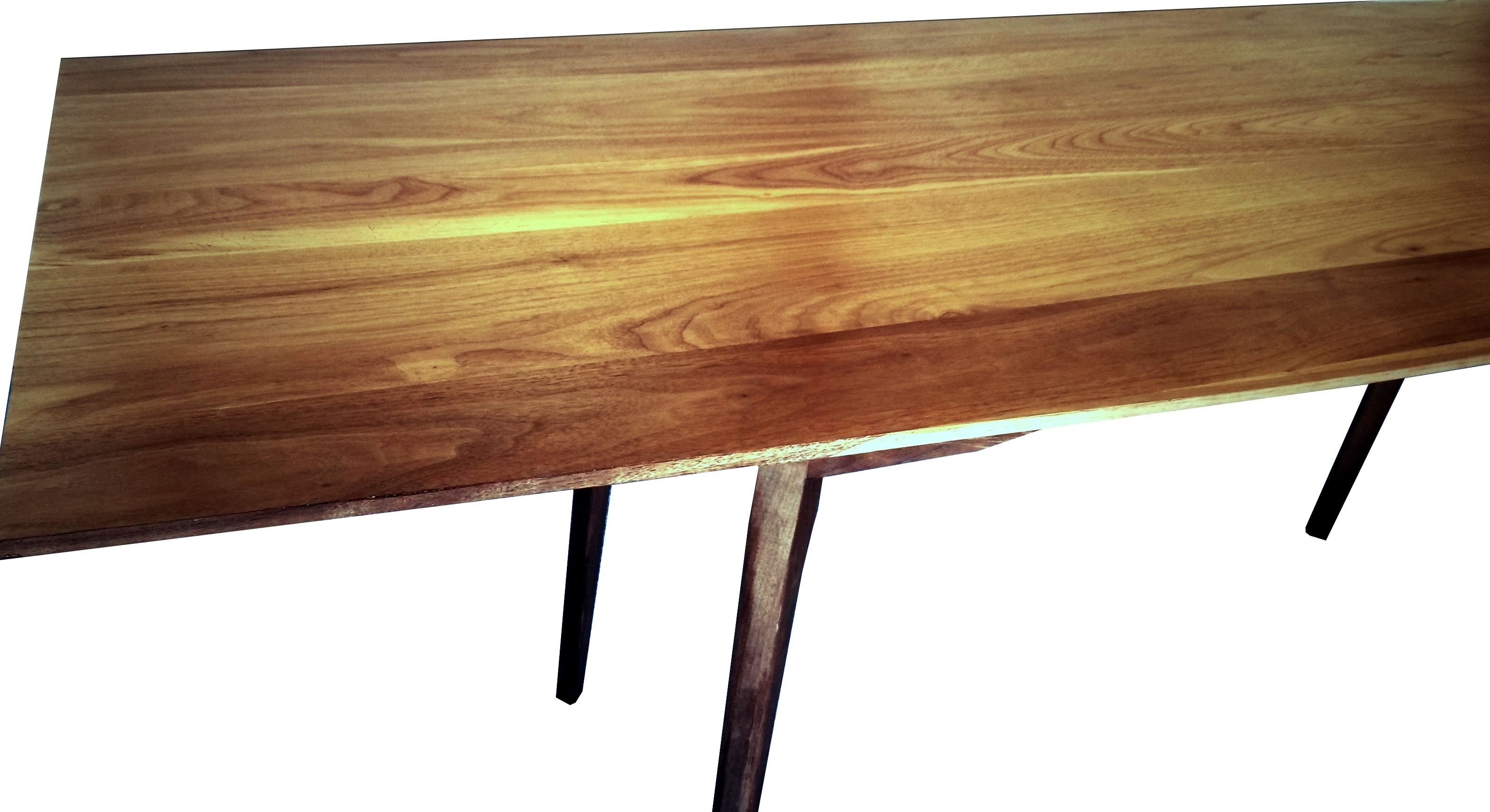 Buy A Hand Made Mid Century Styled Walnut Dining Kitchen Table Made To Order From Vermont