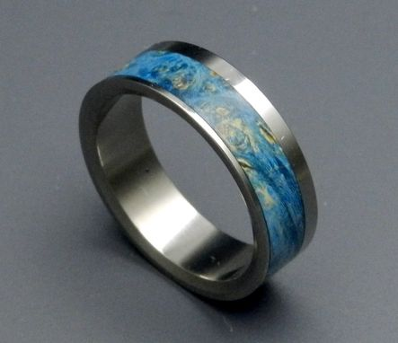 Custom Made Titanium Wedding Band | Cirrus