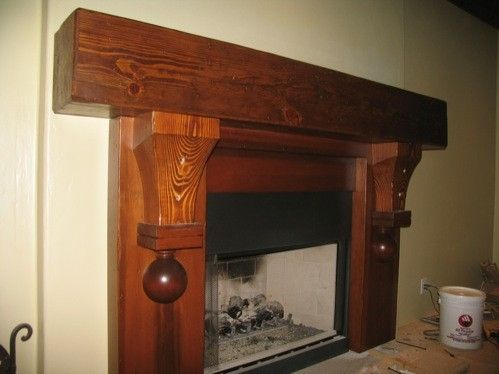 Custom Made Mantle Piece