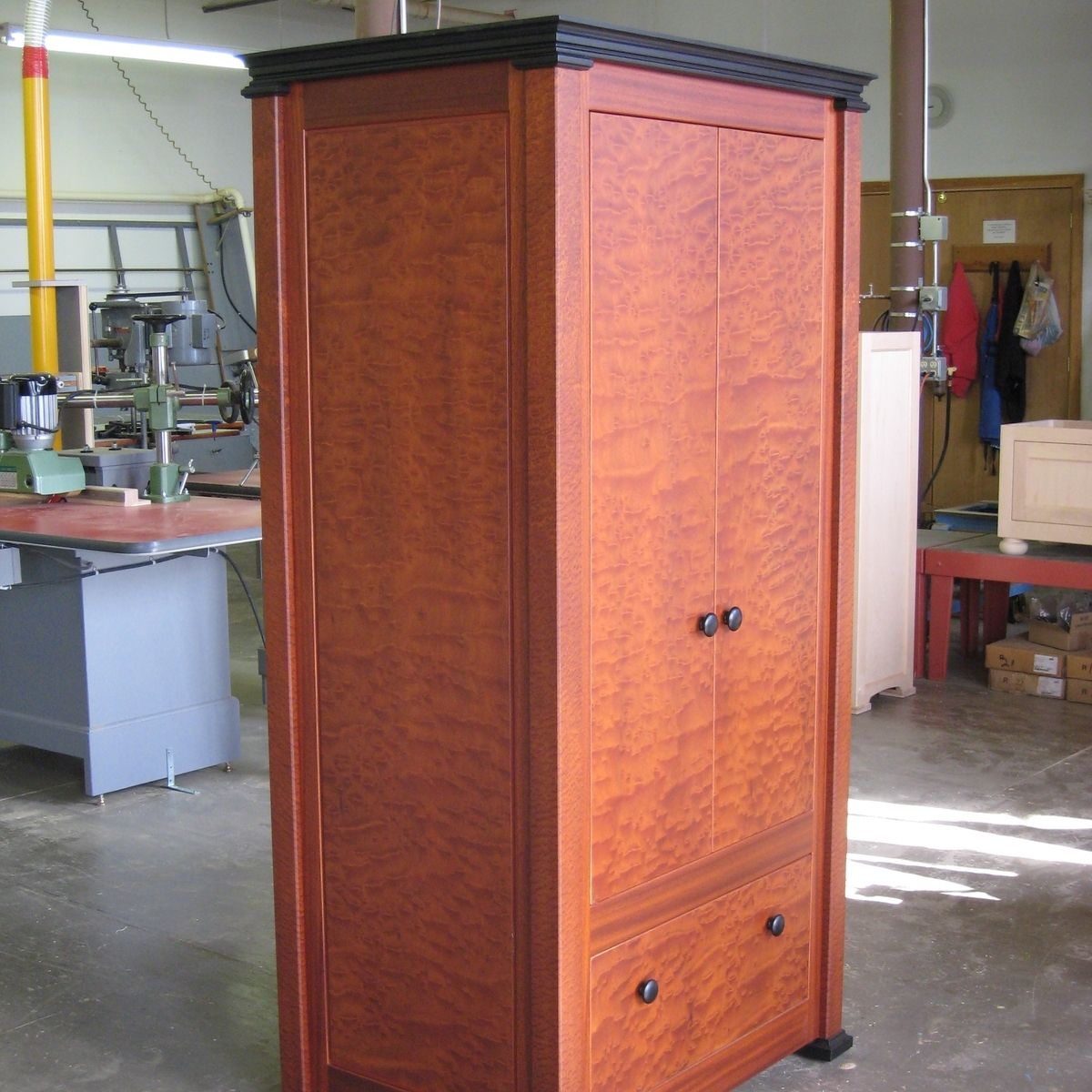 Clothing Armoire Wardrobe ~ Handmade personal armoire clothing wardrobe by rosette