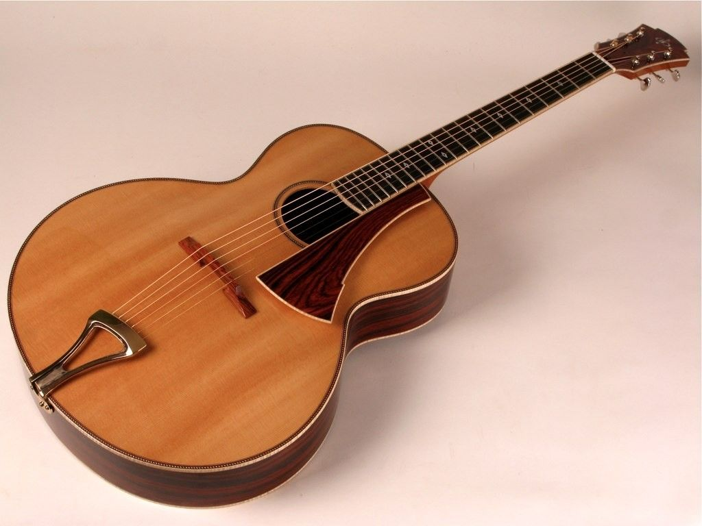 hand crafted archtop guitar 16 by andrews guitars. Black Bedroom Furniture Sets. Home Design Ideas