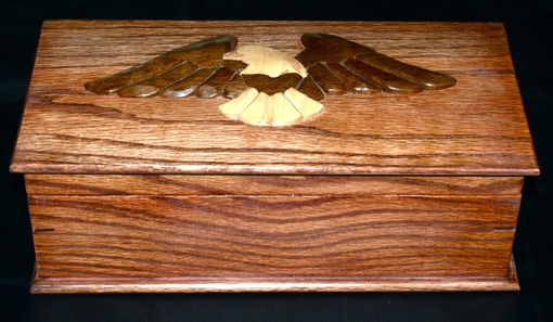 Custom Made Men's Keepsake Box
