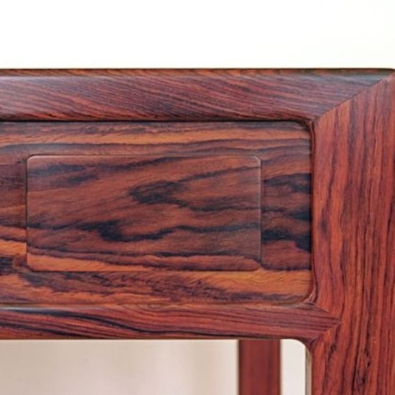 Custom Ming Cocobolo Game Table By First Edition Furniture