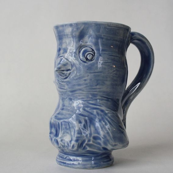 Hand Crafted Animal Shaped Mugs By Sara E Lynch