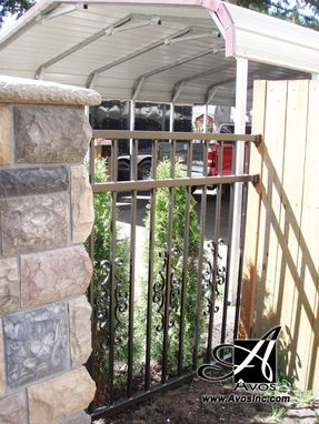 Custom Made Batazhan Style Fence