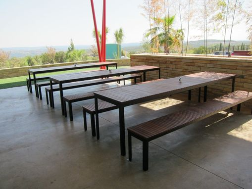 Custom Made Custom Outdoor Furniture - P Terry's Austin, Tx