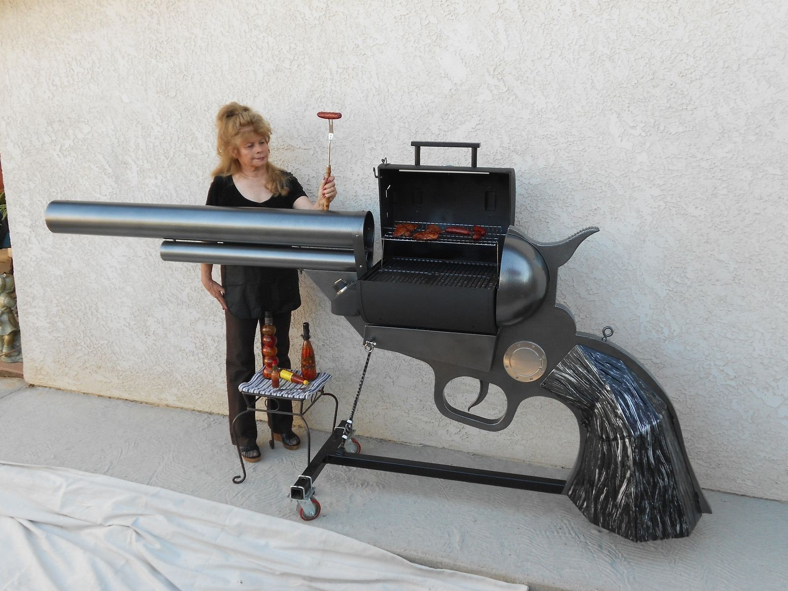 Hand Made Colt 45 Bbq by RLM Creations | CustomMade.com