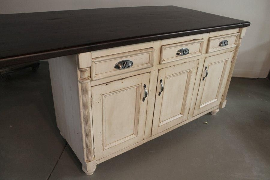 How To Attach Reclaimed Wood To Kitchen Island