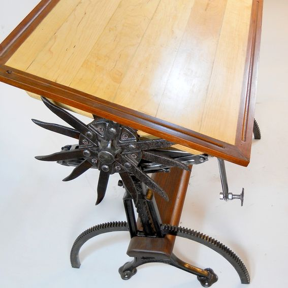 Handmade Very Unique Custom Made Drafting Tables. By Iron