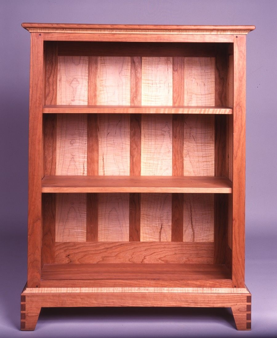 crafted shaker style bookcase by matthew sharratt