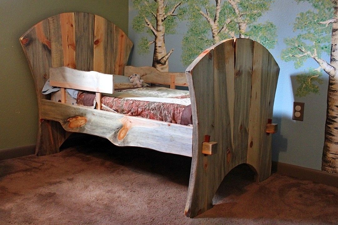 Custom made childs bed by sentinel tree woodworks for Custom made bedroom furniture