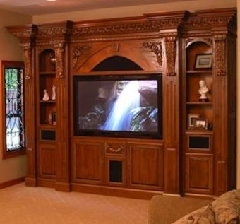 Custom Made Home Theater In Granite Bay, California.