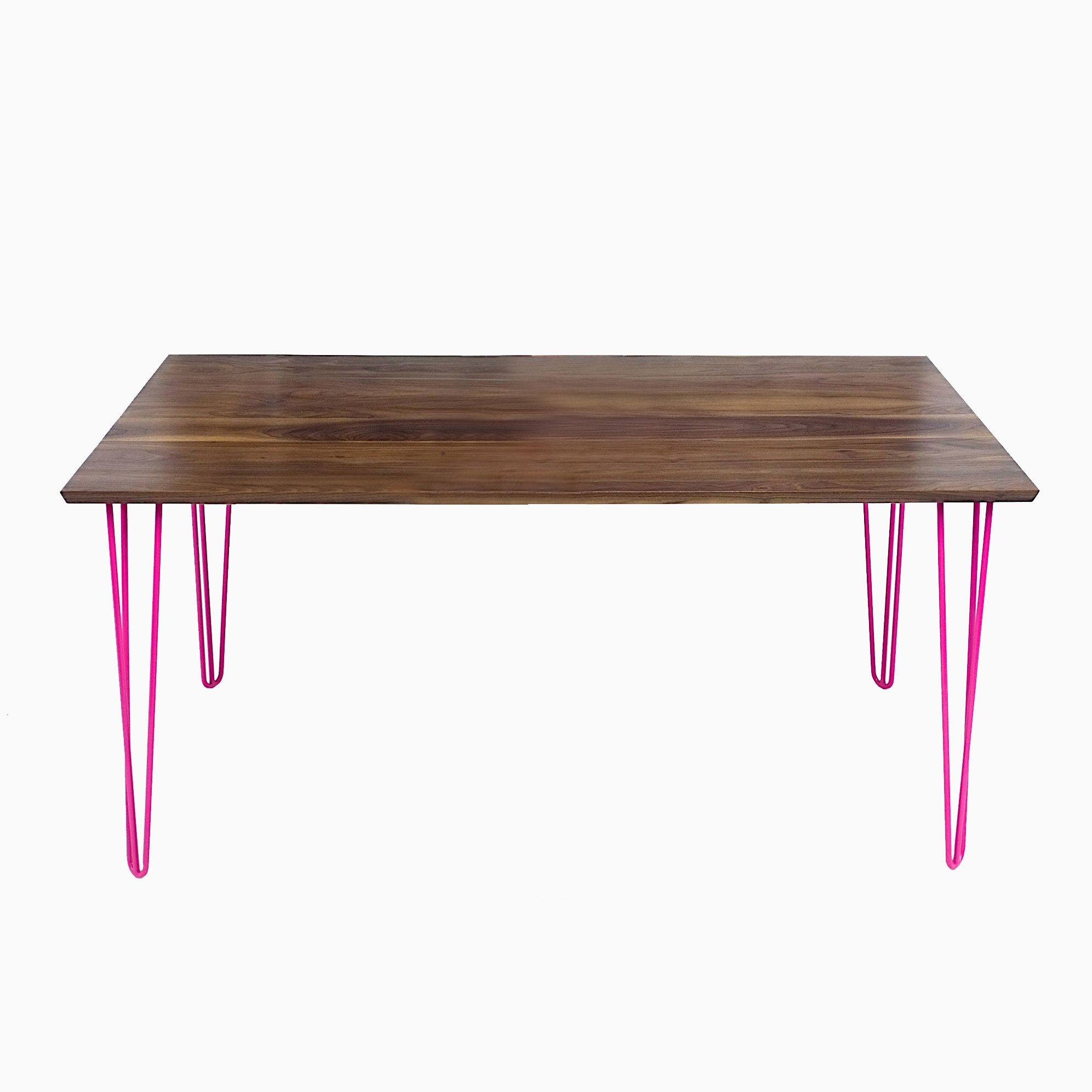 Buy A Hand Crafted Mid Century Modern Solid Walnut Table W