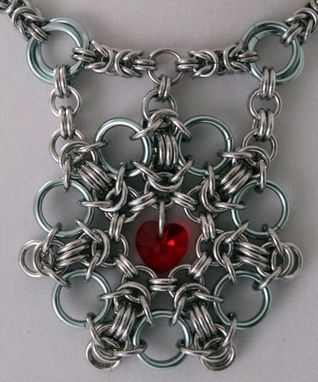 Custom Made Byzantine Chainmaille Necklace