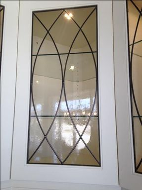 Custom Made Leaded Glass Inserts