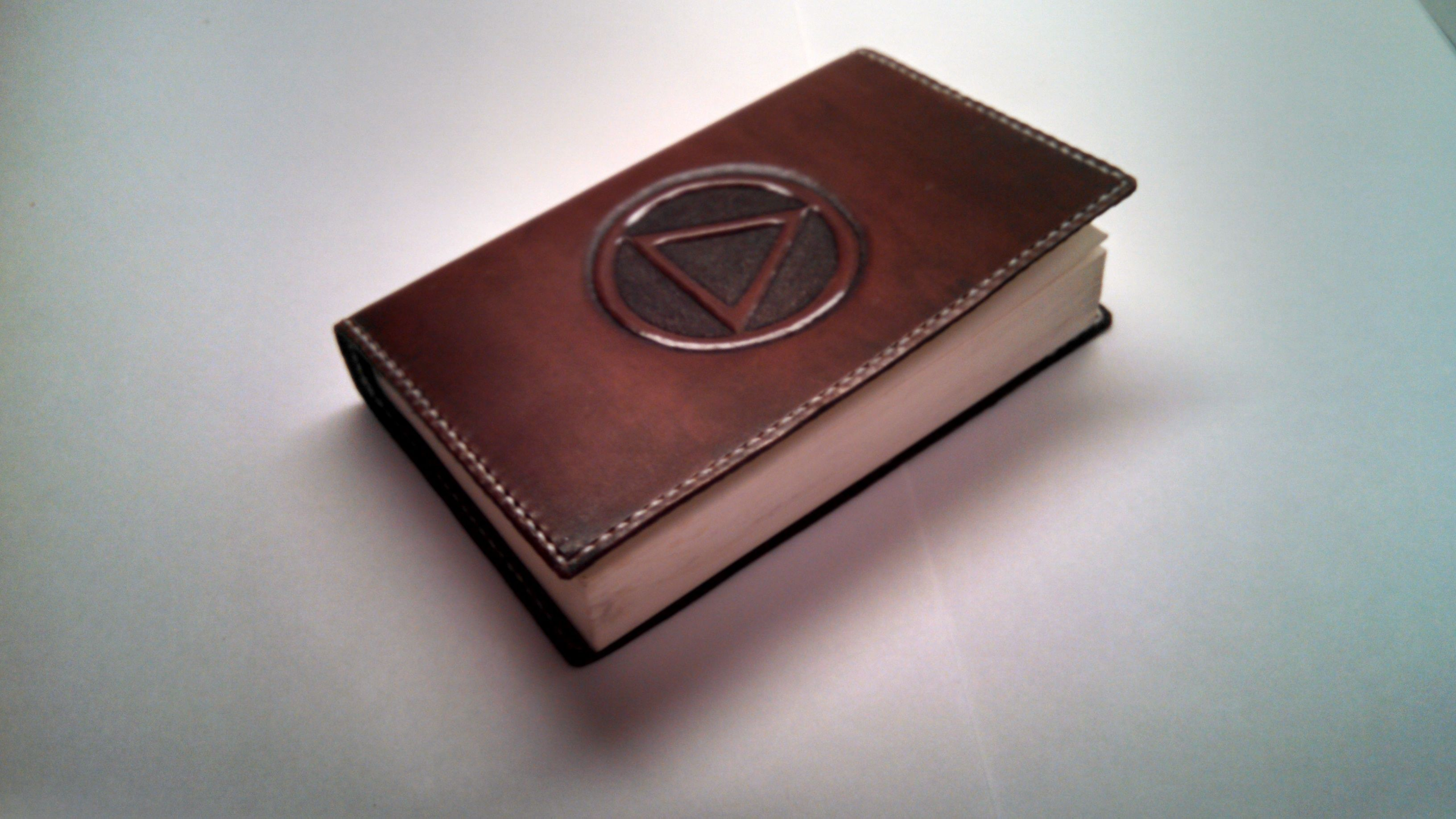 Handmade Leather Book Cover : Handmade leather book covers images