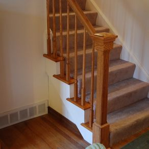 Custom railings and handrails for Custom stair