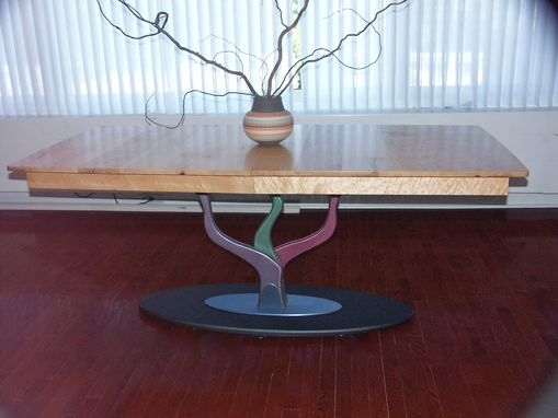Hand Made Candelabra Dining Table By Handler Studio