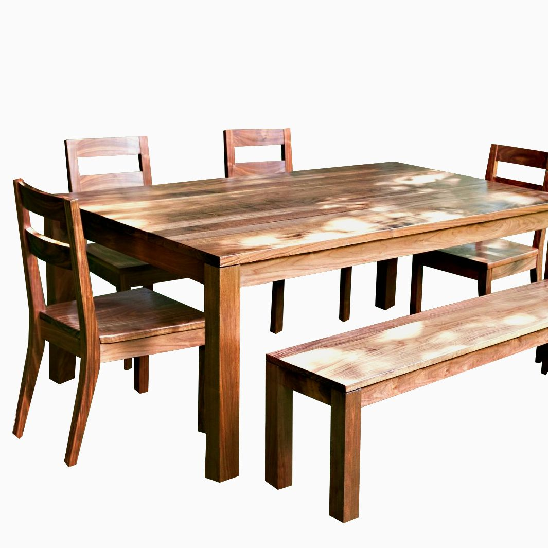 Buy a hand crafted modern farmhouse dining table made to for Farmhouse dining room table