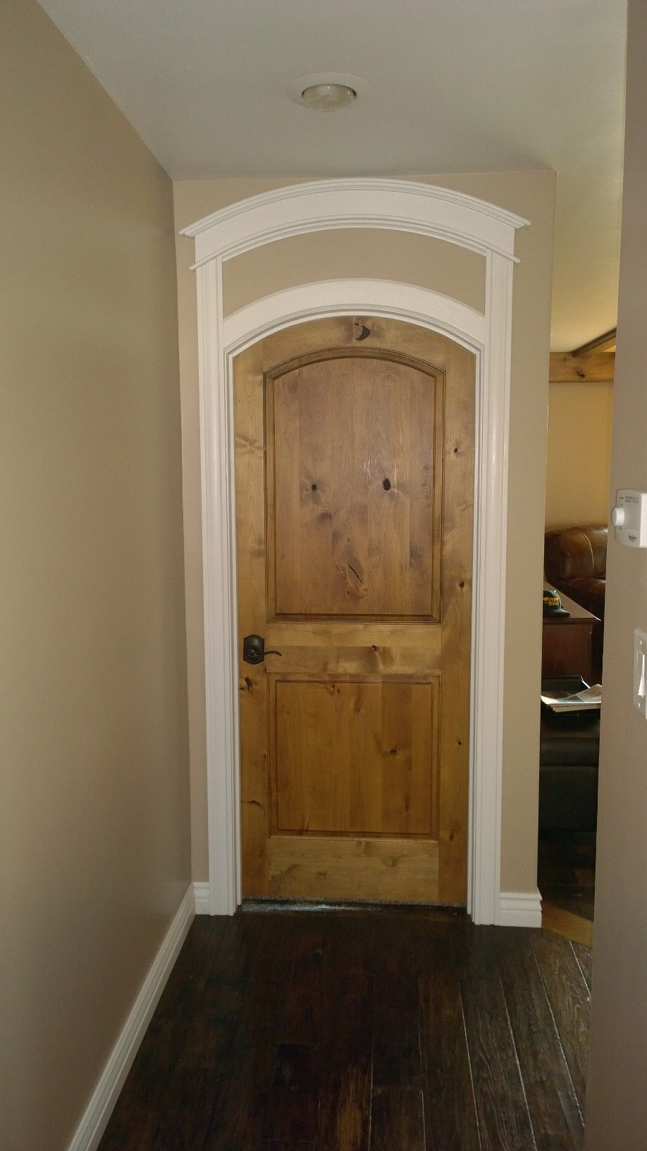 Custom Double Arched Top Door By Cathedral Architectural
