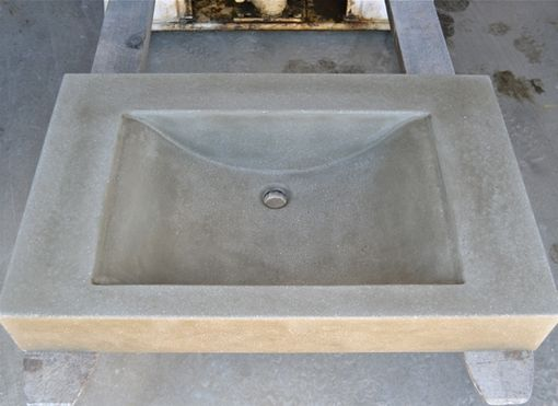 Custom Made Concrete Vanity
