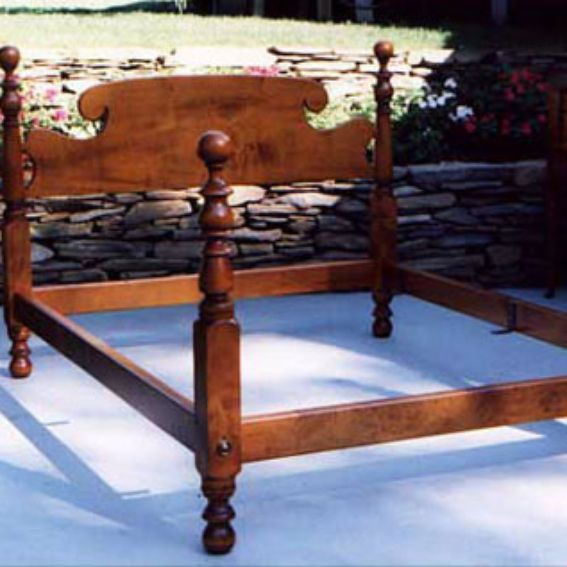 Custom Antique Reproduction Bed By Bruce Eric Charest Period Furniture Reproduction