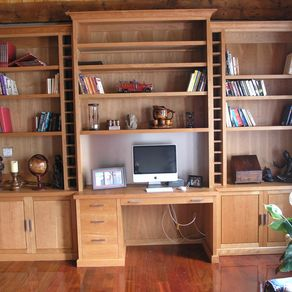Custom Made Wall Units By North Park Woodcraft Ltd