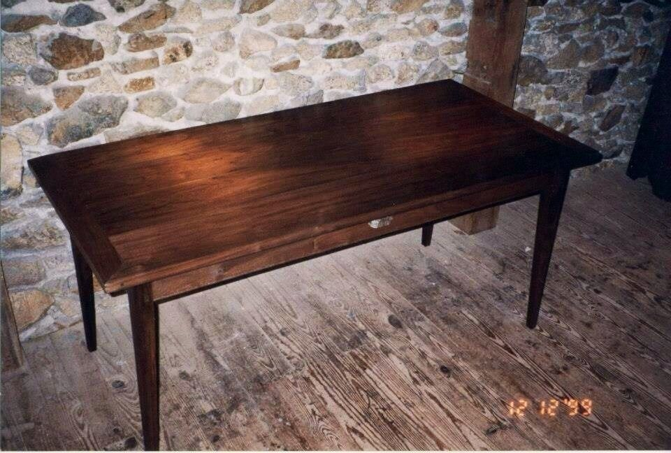 Handmade Walnut Dining Table by Klaus Woodworks  : 201232509958 from www.custommade.com size 960 x 648 jpeg 111kB