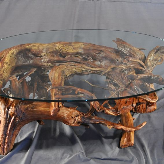 Coffee Table Made From Driftwood: Custom Driftwood Coffee Table By Driftwood Decor