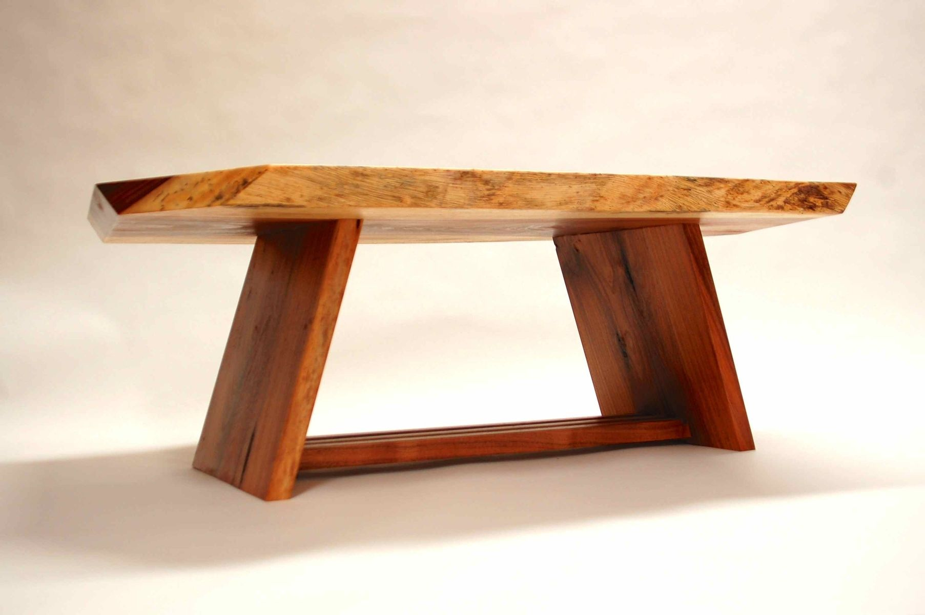 Handmade Acacia Coffee Table By Cb Studios