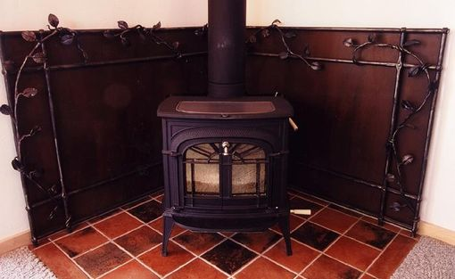 Custom Wood Stove Heat Shield By Steve Fontanini