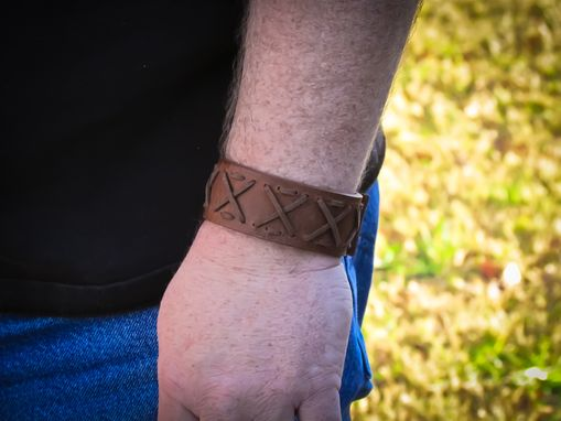 Custom Made Leather Bracelet