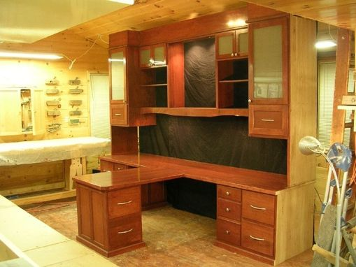 Hand Made Custom His/Her Office Desk by Larue Woodworking ...