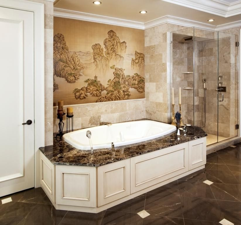 Elegant Bathrooms: Custom Made Refined And Elegant Bathroom Cabinetry By