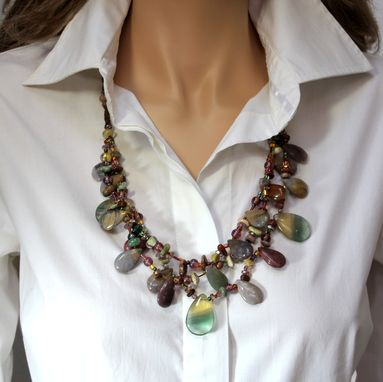 Custom Made Opulent Statement Necklace Unique To You And One-Of-A-Kind