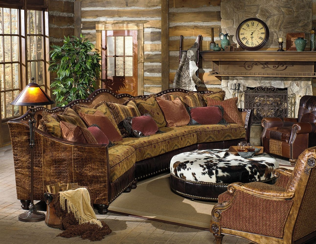 hand crafted western furniture custom living room  family room furniture by bernadette