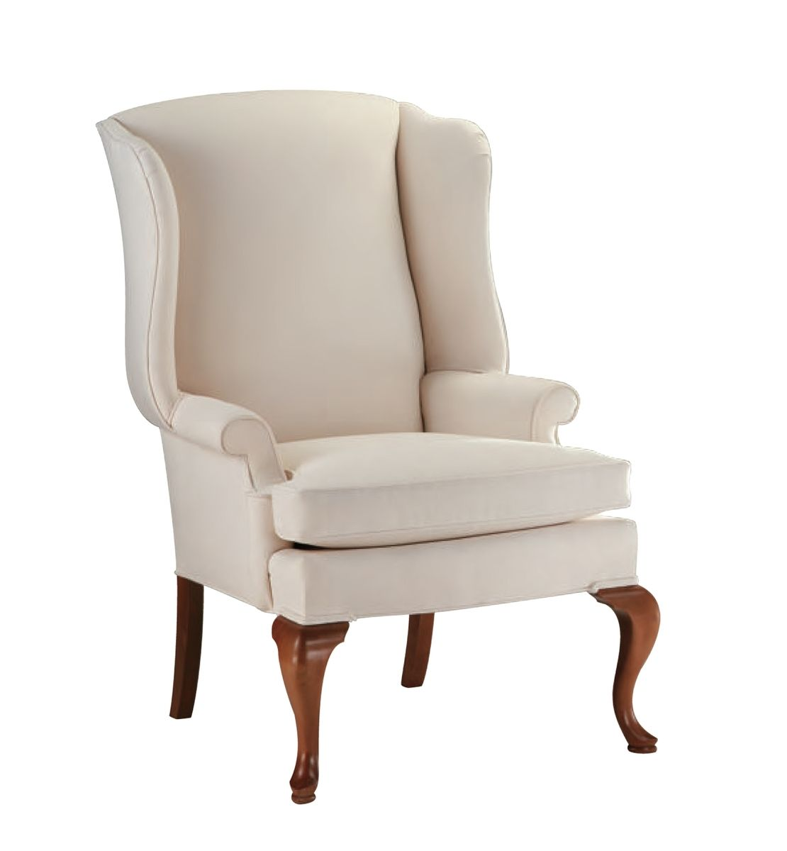 Unique Upholstered Chairs: Custom Upholstered Wingback Chair By Oak And Velvet