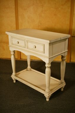 Custom Made Open Base Console Table