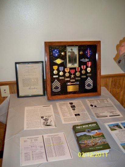 Hand Made Military Honor Display Case By Ziegler Woodwork