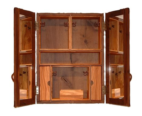 Custom Envane Wall Hung Jewelry Cabinet By Appalachian