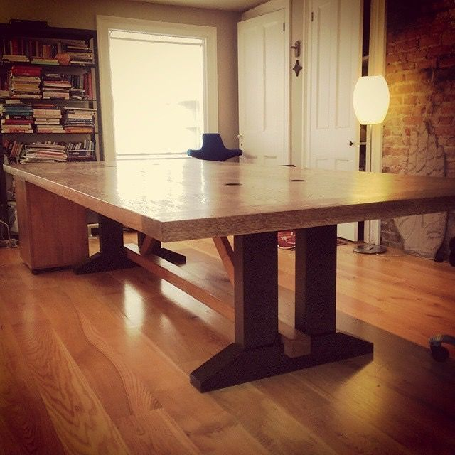 Hand Crafted Conference Room Table By Wood Amp Brand Llc