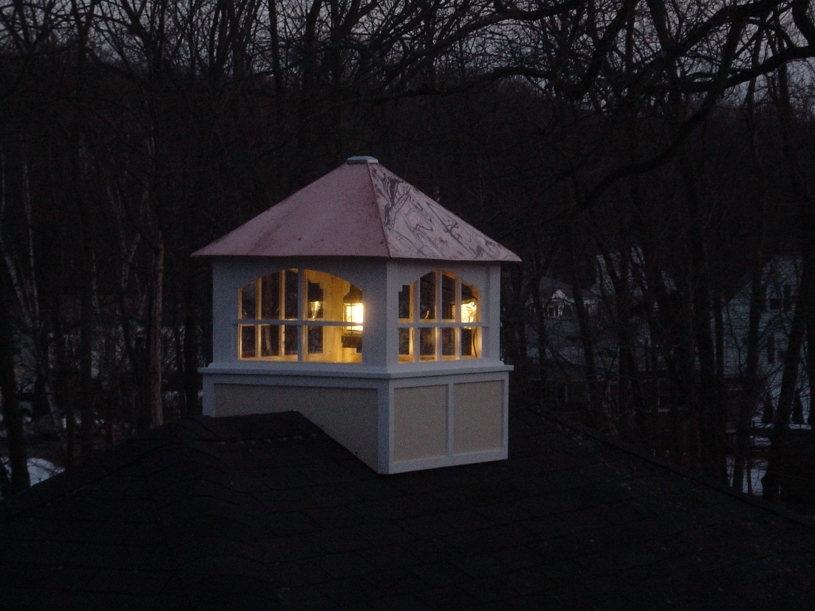 Custom copper cupola with lantern by dmansell creative for Cupola on house